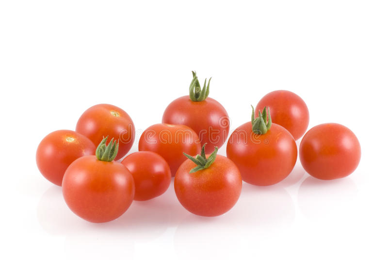 Tomates-cerises. image stock