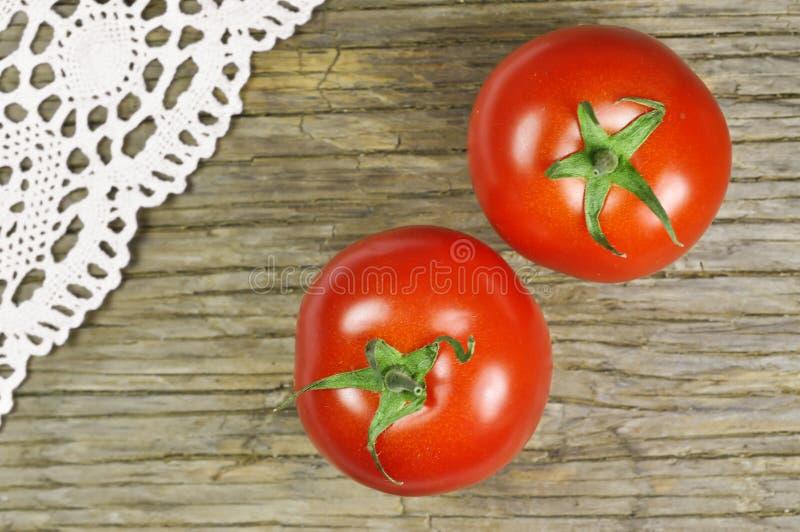 Tomates-cerises rouges image stock