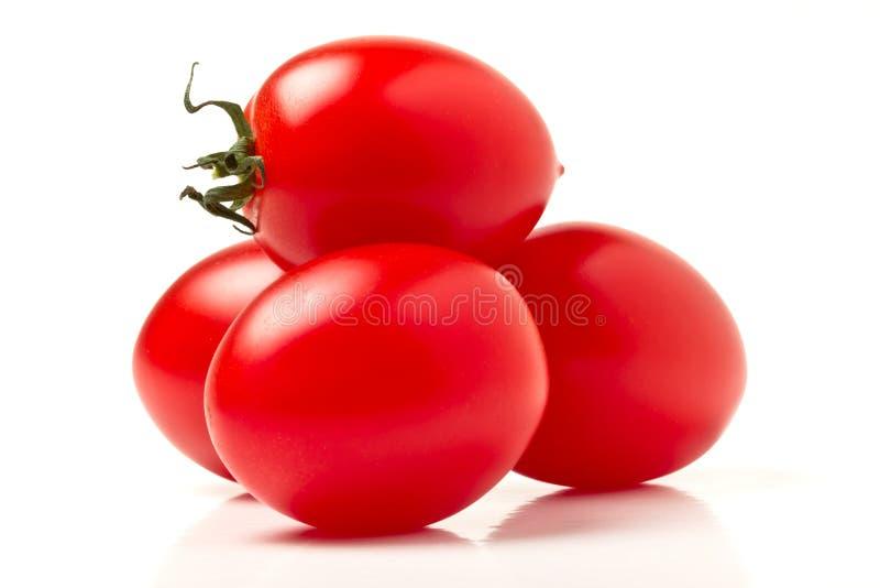 Tomates de ameixa italianos imagens de stock