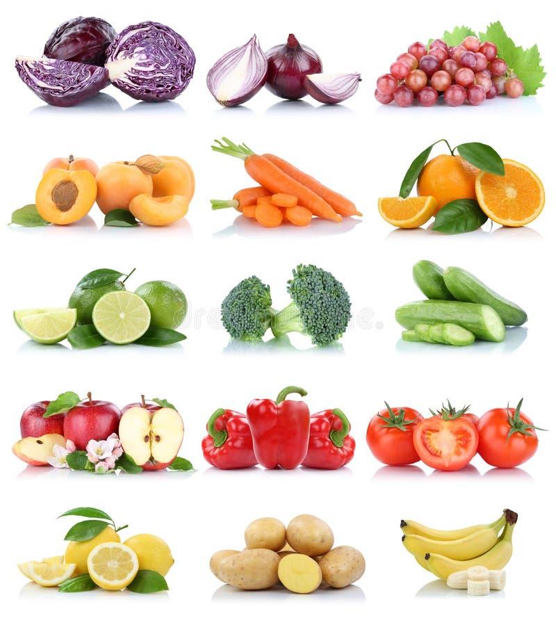 Tomates de pomme d'isolement par collection de fruits et légumes oranges photo libre de droits