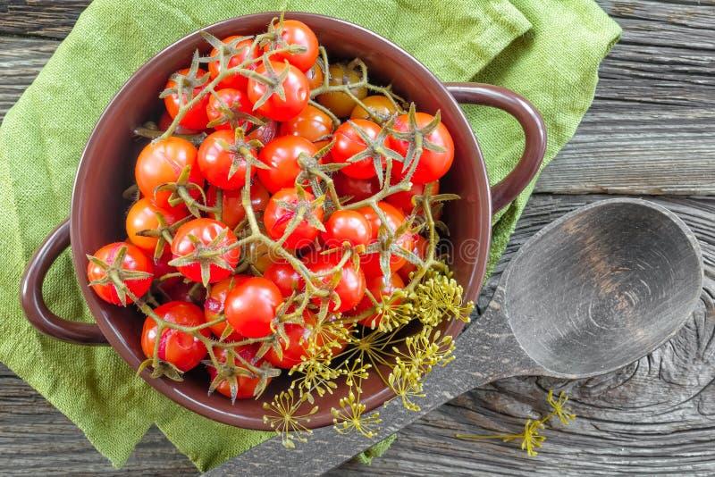 Tomates en boîte image libre de droits