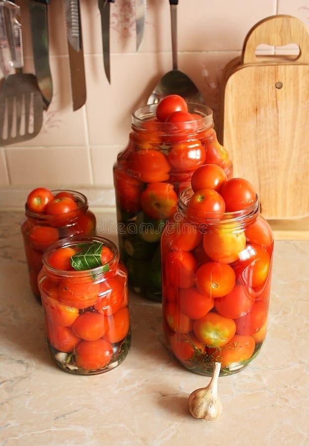 Tomates enlatados fotos de stock royalty free
