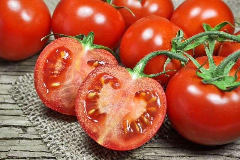 Tomates rouges fraîches photos libres de droits