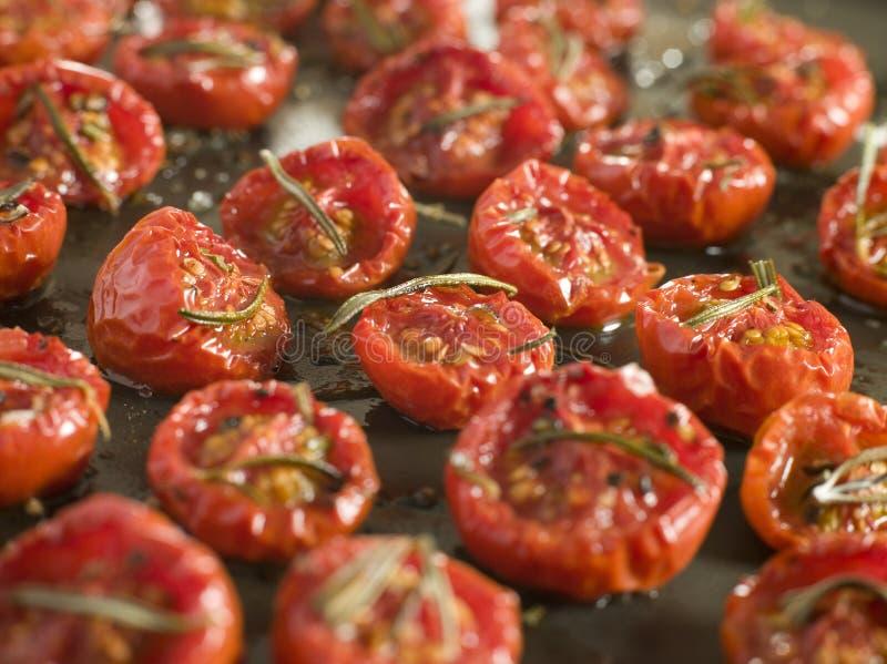 Tomates secados en el horno imágenes de archivo libres de regalías