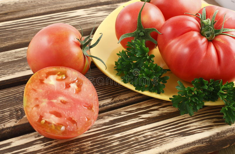 Tomates Siberian fotografia de stock