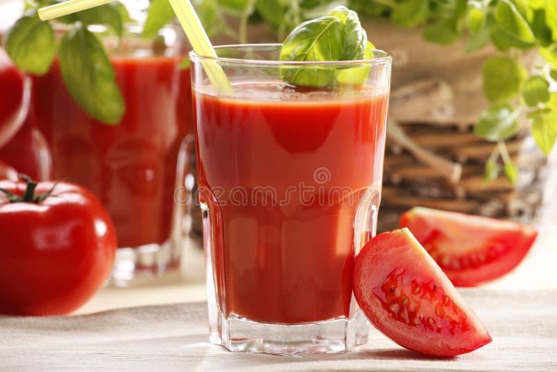 Tomatesaft stockbilder