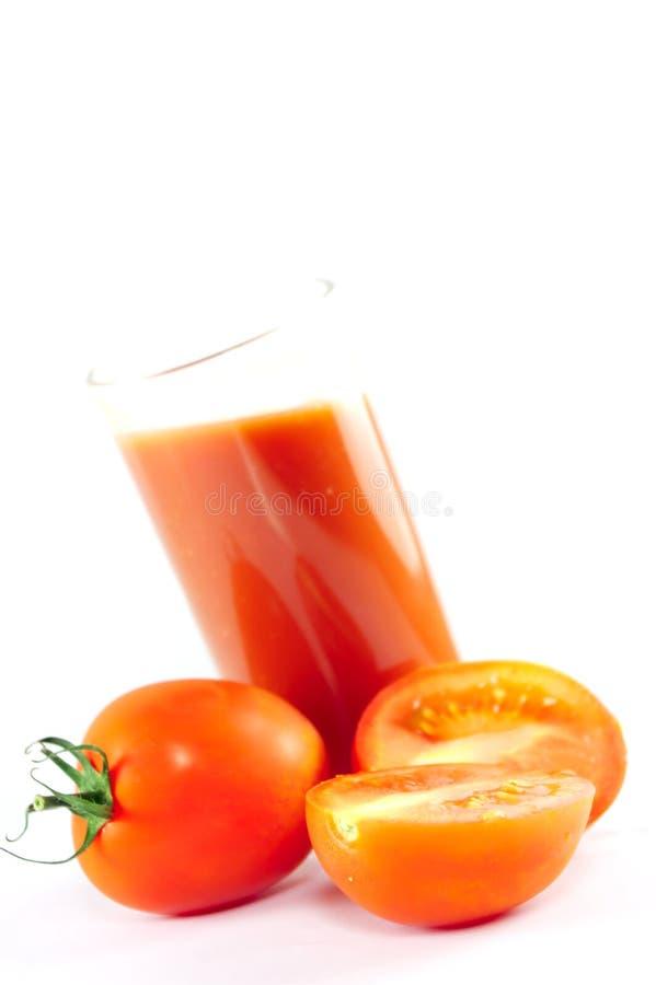 Tomatesaft lizenzfreie stockfotos