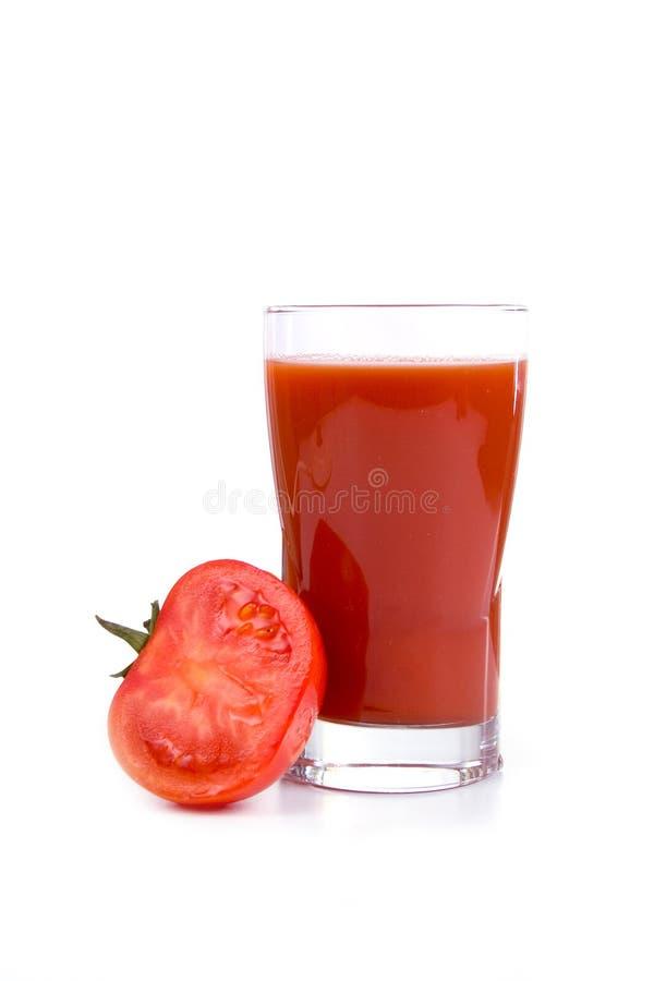 Tomatesap royalty-vrije stock afbeelding
