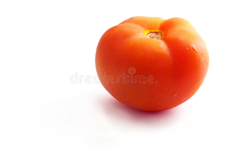 Download Tomato stock photo. Image of vegetarian, isolated, natural - 109348