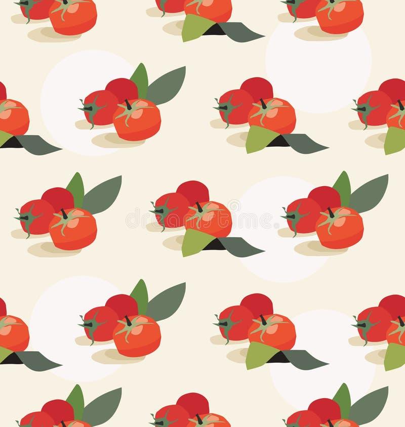 Tomato background royalty free illustration