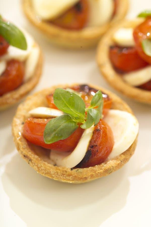 Tomato And Bocconcini Stock Photography