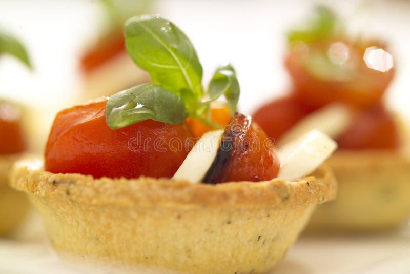 Tomato And Bocconcini Stock Photos