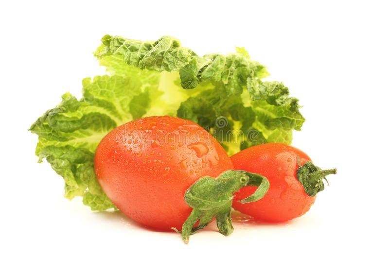 Tomato and cabbage