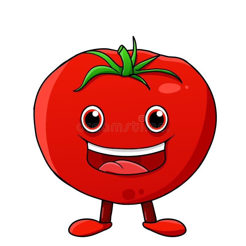 Tomato character stock image