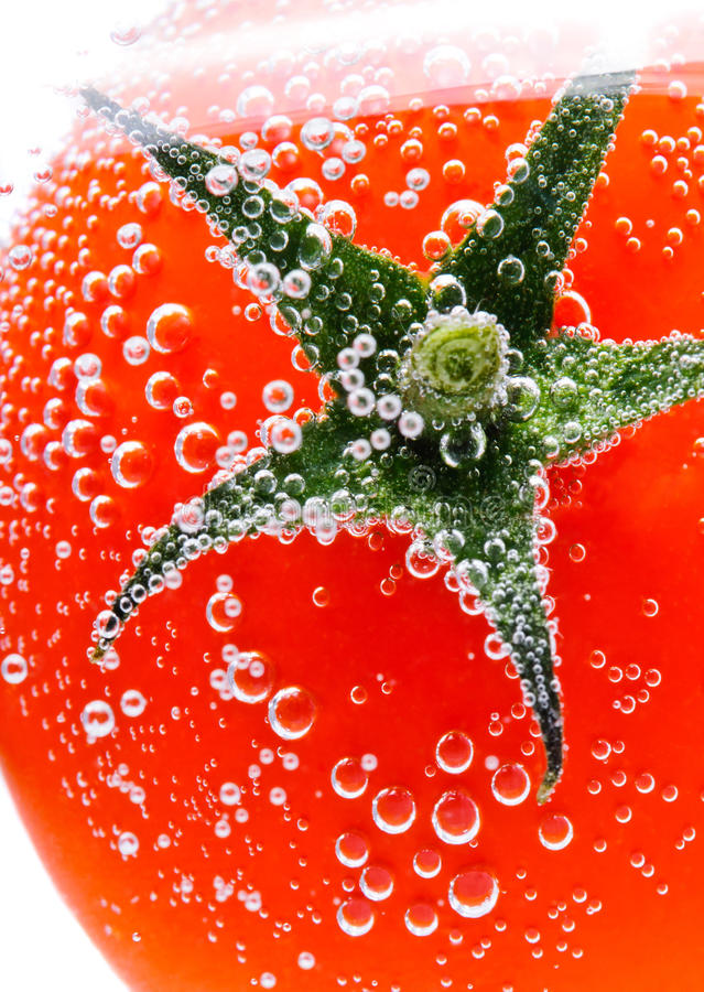 Free Tomato In Water Royalty Free Stock Image - 23264326