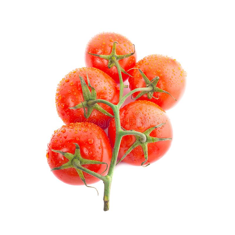 Tomato isolated on white background Clipping Path stock images