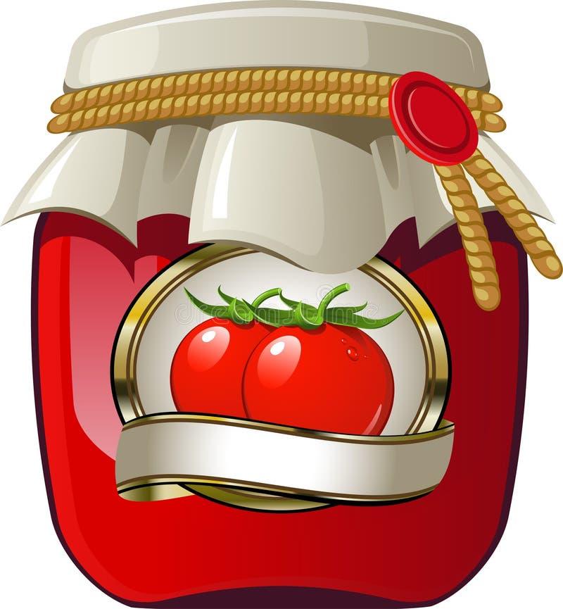 Tomato Jar Royalty Free Stock Images