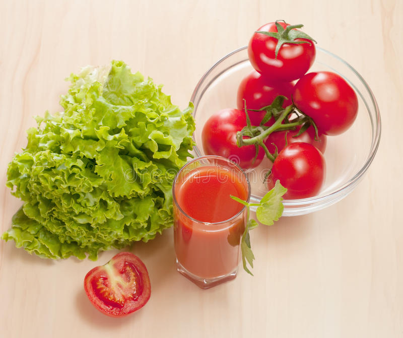 Tomato juice royalty free stock photography