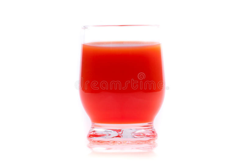 Download Tomato juice in the glass stock photo. Image of glass - 23955798