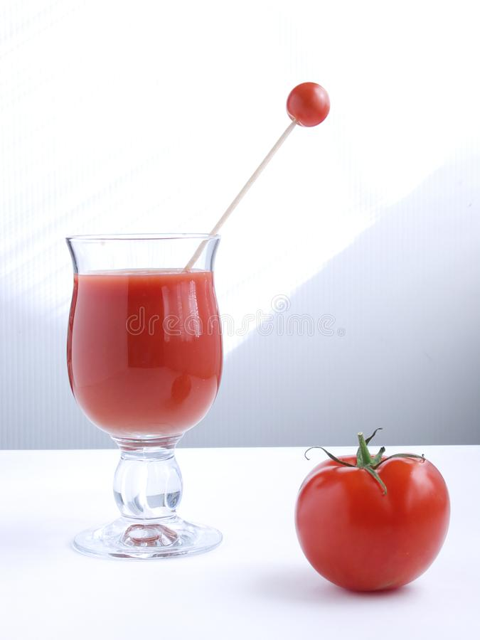Tomato juice V stock photo