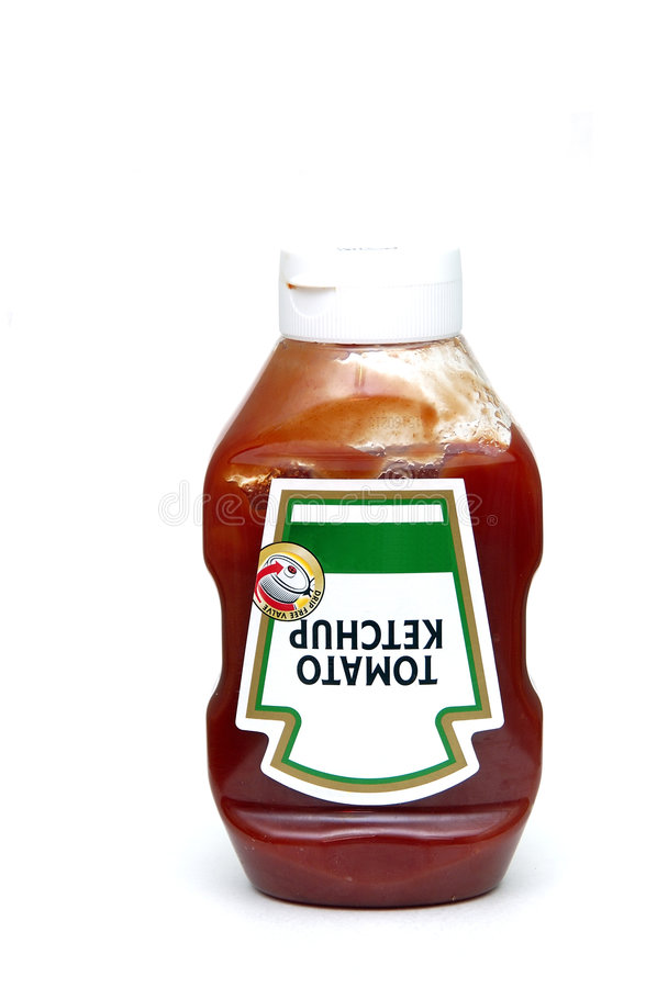 tomato ketchup zdjęcie stock