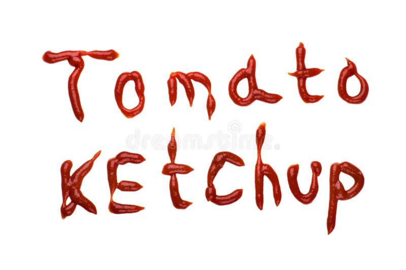 Tomato Ketchup Royalty Free Stock Image