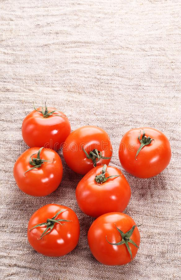 Download Tomato on a old fabric stock photo. Image of diet, objects - 18428688