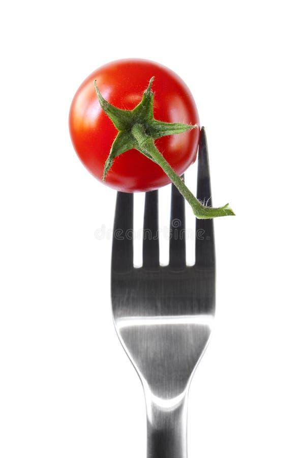 Free Tomato On Fork Royalty Free Stock Photos - 16567028