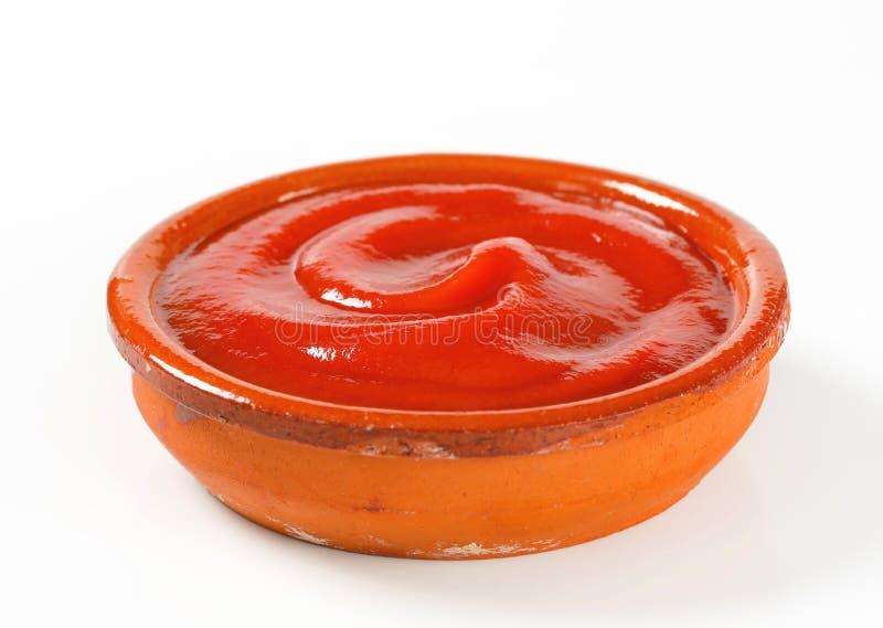 Tomato passata stock photos