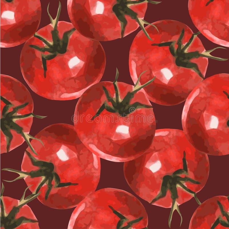 Free Tomato Pattern 5 Stock Photo - 56985050