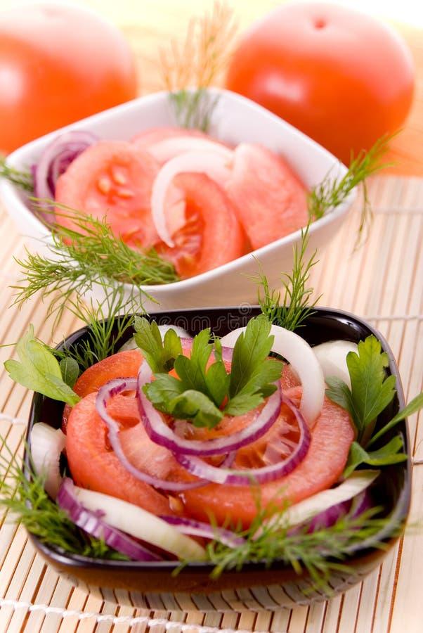 Free Tomato Salad Royalty Free Stock Photography - 1835587