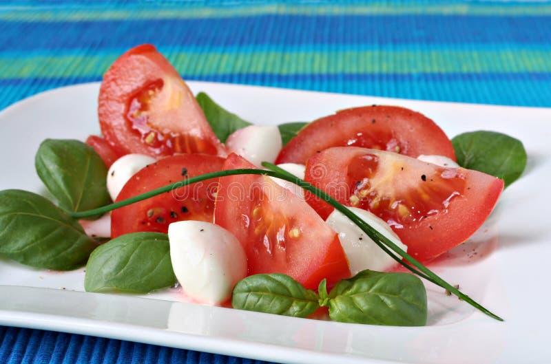 Tomato salad royalty free stock photos