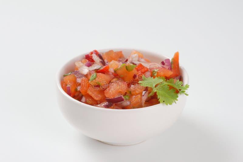 Tomato salad royalty free stock photo