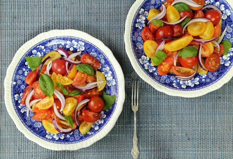 Download Tomato Salad. Stock Photo - Image: 83717397