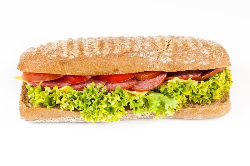 Download Tomato, Salami And Cheese Panini Stock Image - Image: 23556443