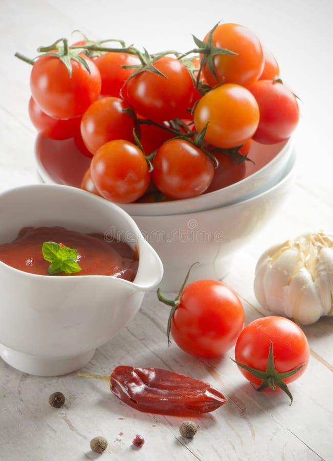 Download Tomato sauce stock photo. Image of eating, savory, light - 24294138