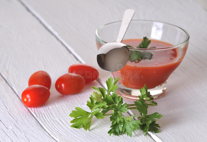 Download Tomato sauce stock image. Image of dishware, food, mixed - 28538367
