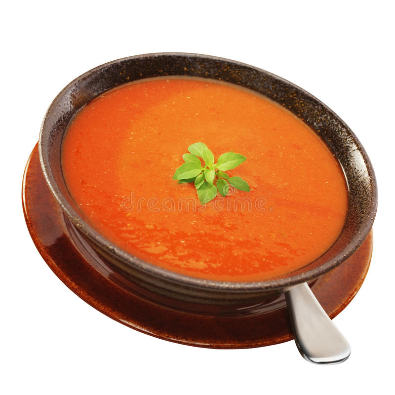 Download Tomato Soup stock photo. Image of bowl, meal, tomato - 25440120