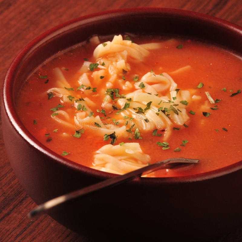 Download Tomato soup stock image. Image of seasoning, diet, kitchen - 28538515