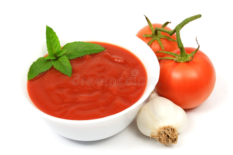Download Tomato Soup Royalty Free Stock Photos - Image: 6053008