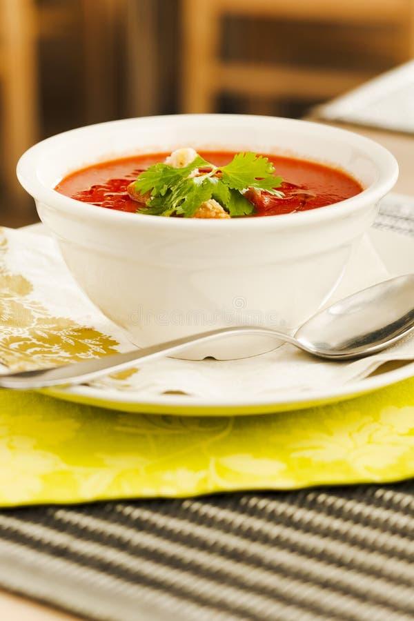 Free Tomato Soup Stock Photography - 7634082