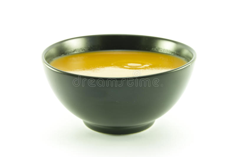 Download Tomato Soup In A Black Bowl Stock Image - Image: 11431181