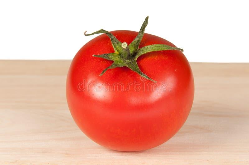 Download Tomato on wooden board stock photo. Image of ripe, taste - 24596974