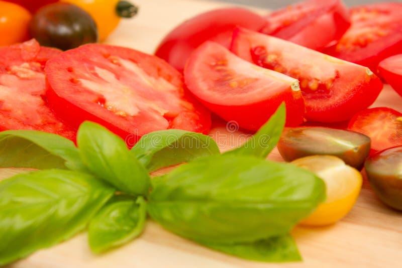 Tomatoe d'héritage photo libre de droits