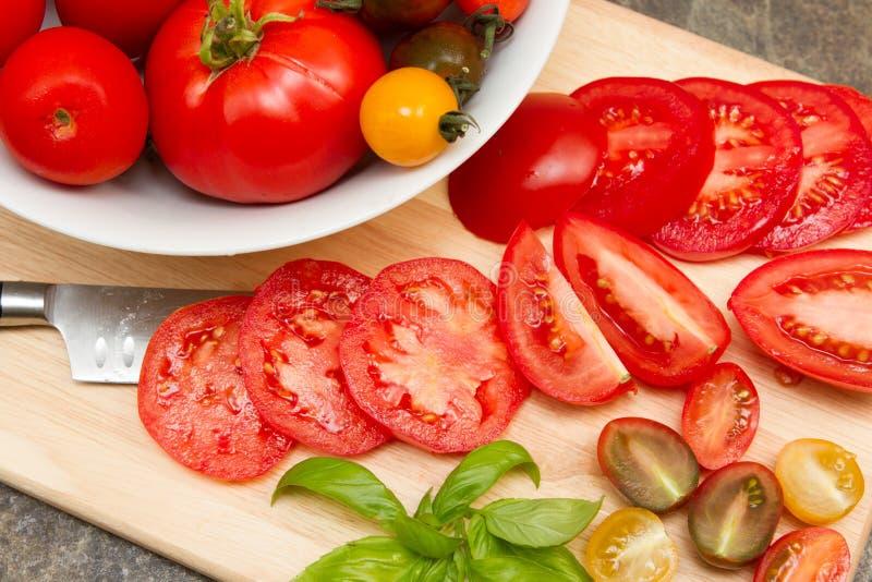 Tomatoe d'héritage image stock