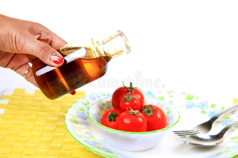 Download Tomatoe diet stock image. Image of dressing, background - 24685665