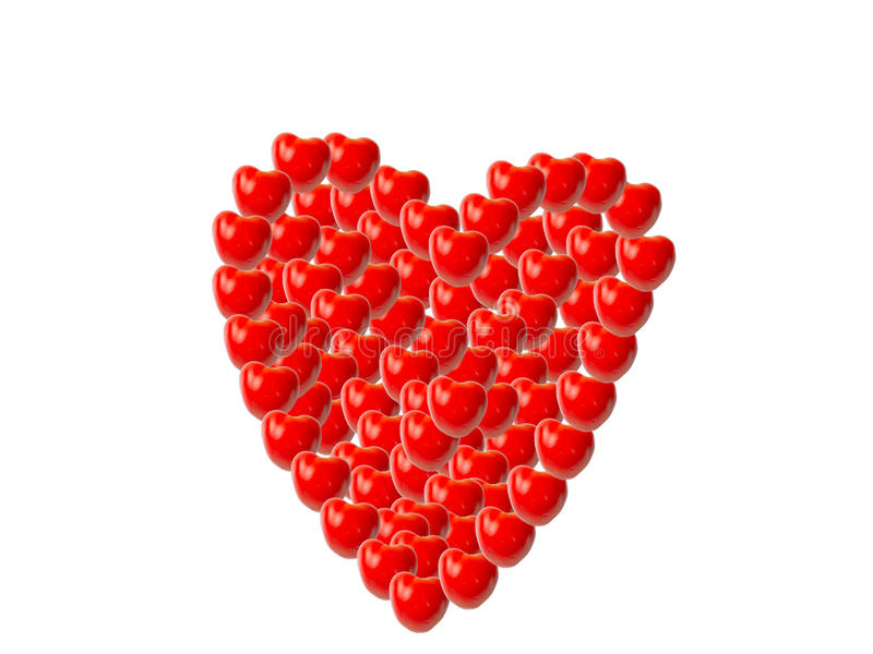 Tomatoes as heart stock photos