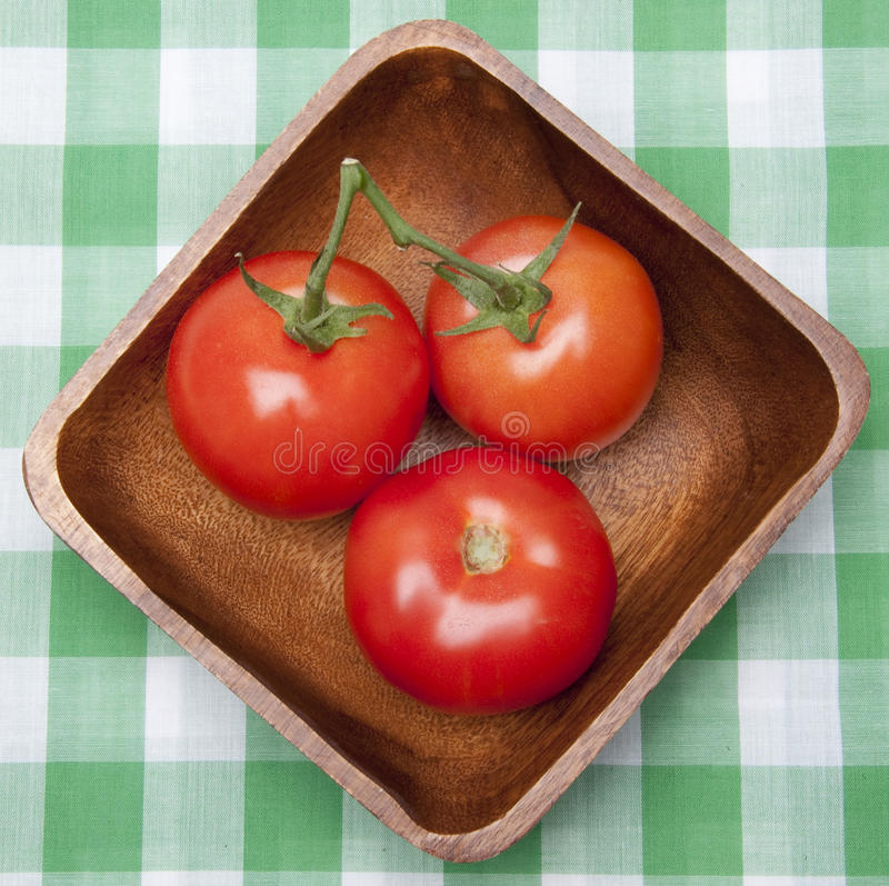 Download Tomatoes In A Bowl On A Picnic Blanket. Stock Photo - Image: 13348482