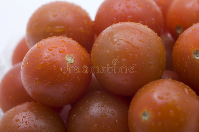 Download Tomatoes Cherry - Close Up Stock Photos - Image: 7658603