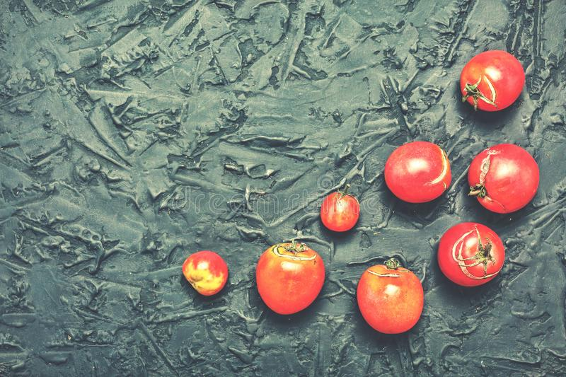 Tomatoes, cherry, fresh, ripe, ripe, tomato paste, raw materials royalty free stock photo